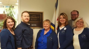 TRIO Professionals outside of Joe Manchin's office