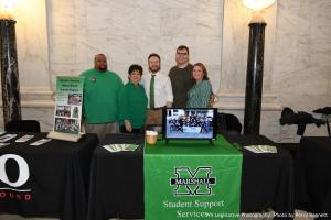 Marshall's SSS, HATS, and UB programs at MU Day at the Capitol
